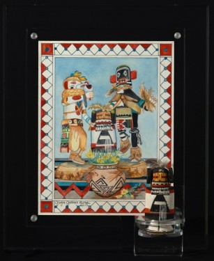 Hopi Kachinas (with antique maiden attached)